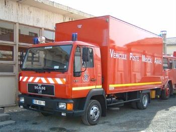 <h2>Véhicule poste médical avancé - Bois-d'Arcy - Yvelines (78)</h2>