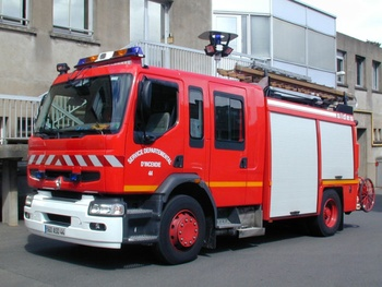 Fourgon-pompe tonne secours routier, Sapeurs-pompiers, Loire-Atlantique (44)