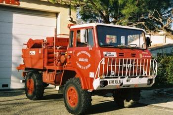 <h2>Camion-citerne pour feux de forêts - Gigondas - Vaucluse (84)</h2>