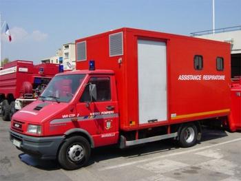Véhicule d'assistance respiratoire, Marins-pompiers de Marseille, Bouches-du-Rhône