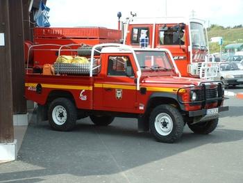 Camion-citerne pour feux de forêts léger, Sapeurs-pompiers, Hérault (34)