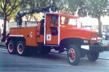 Camion-grue, Sapeurs-pompiers, Gironde (33)