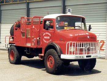 <h2>Camion-citerne pour feux de forêts - Orange - Vaucluse (84)</h2>