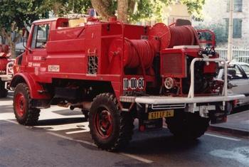 Camion-citerne pour feux de forêts, Sapeurs-pompiers, Alpes-de-Haute-Provence (04)