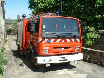 <h2>Fourgon-pompe tonne - Bédarieux - Hérault (34)</h2>