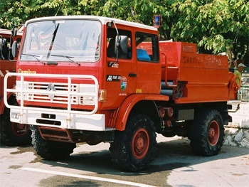 <h2>Camion-citerne pour feux de forêts - Cannes - Alpes-Maritimes (06)</h2>