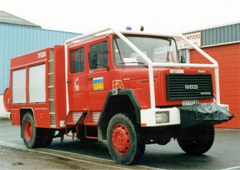 Fourgon-pompe tonne, Sapeurs-pompiers, Territoire-de-Belfort