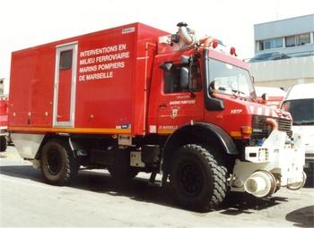 Véhicule pour interventions en milieu ferroviaire, Marins-pompiers de Marseille, Bouches-du-Rhône (13)