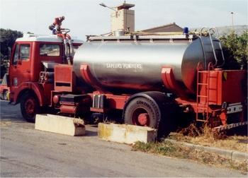 Camion-citerne de grande capacité, Sapeurs-pompiers, Alpes-Maritimes