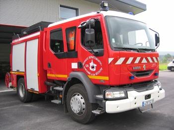Fourgon-pompe tonne, Sapeurs-pompiers, Ardennes (08)