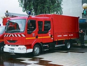Dévidoir automobile, Sapeurs-pompiers, Val-d'Oise