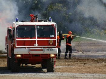 Camion-citerne pour feux de forêts, Formations militaires de la Sécurité civile, Var