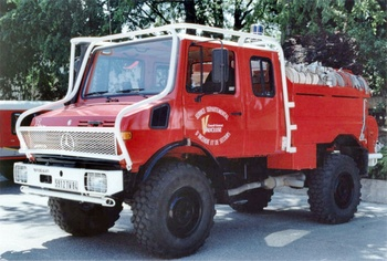 <h2>Camion-citerne pour feux de forêts - Mondragon - Vaucluse (84)</h2>