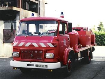Véhicule mousse poudre, Sapeurs-pompiers, Yvelines