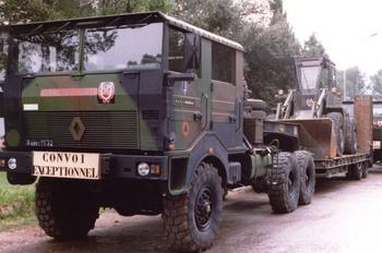 Véhicule porte-engin, Formations militaires de la Sécurité civile, Var (83)