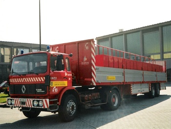Véhicule tracteur, Sapeurs-pompiers, Bas-Rhin (67)
