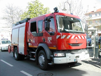 Fourgon-pompe tonne, Sapeurs-pompiers, Puy-de-Dôme (63)
