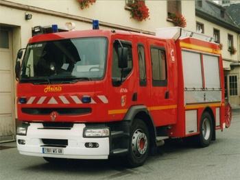 <h2>Fourgon-pompe tonne - Saint-Louis - Haut-Rhin (68)</h2>
