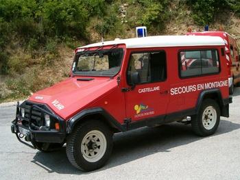 <h2>Véhicule de secours en montagne - Castellane - Alpes-de-Haute-Provence (04)</h2>