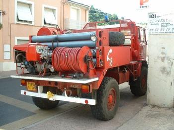 <h2>Camion-citerne pour feux de forêts - Lunas - Hérault (34)</h2>
