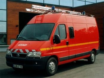 Véhicule pour interventions en milieu périlleux, Sapeurs-pompiers, Territoire-de-Belfort
