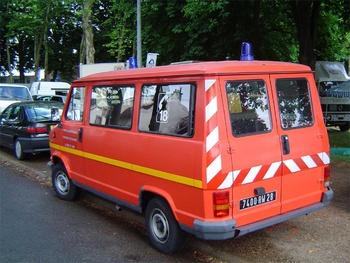 Véhicule de transport de personnel, Sapeurs-pompiers, Eure-et-Loir (28)