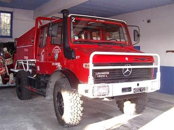 Camion-citerne pour feux de forêts, Sapeurs-pompiers, Alpes-Maritimes (06)