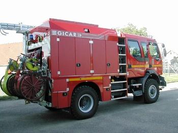 Fourgon-pompe tonne, Sapeurs-pompiers, Essonne (91)