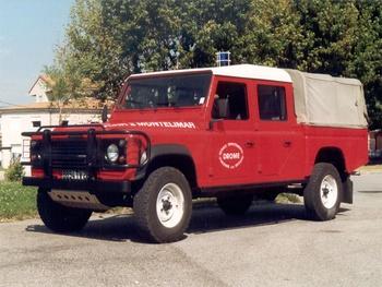 Véhicule de liaison, Sapeurs-pompiers, Drôme