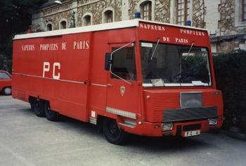 Véhicule poste de commandement, Sapeurs-pompiers de Paris,