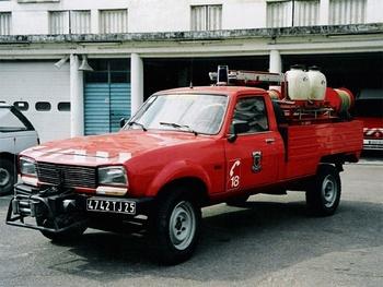 <h2>Camion-citerne pour feux de forêts léger - Besançon - Doubs (25)</h2>