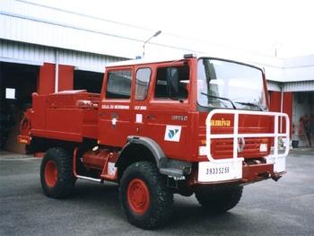 Camion-citerne pour feux de forêts, Sapeurs-pompiers, Morbihan
