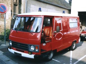 <h2>Véhicule de secours et d'assistance aux victimes - Plumeliau - Morbihan (56)</h2>