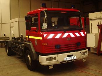 Véhicule porte-cellule, Sapeurs-pompiers, Oise (60)