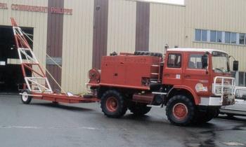 Camion-citerne pour feux de forêts, Sapeurs-pompiers, Orne