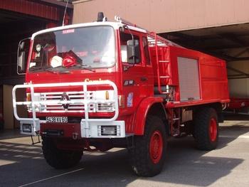 Camion-citerne d'incendie, Sapeurs-pompiers, Oise (60)