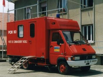 Véhicule poste de commandement, Sapeurs-pompiers, Territoire-de-Belfort