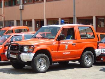 Véhicule de liaison, Marins-pompiers de Marseille, Bouches-du-Rhône (13)