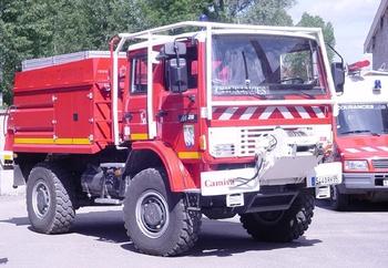 <h2>Camion-citerne pour feux de forêts - Cousances - Meuse (55)</h2>