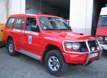 Véhicule de secours en montagne, Sapeurs-pompiers, Corse-du-Sud (2A)
