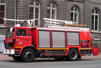 Véhicule tri-extincteur, Sapeurs-pompiers, Nord (59)