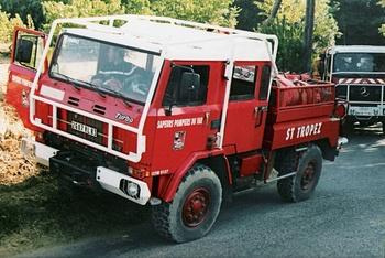 <h2>Camion-citerne pour feux de forêts - Saint-Tropez - Var (83)</h2>