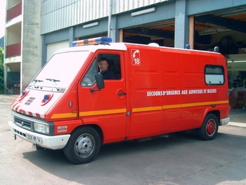 <h2>Véhicule de secours et d'assistance aux victimes - Honfleur - Calvados (14)</h2>