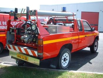 <h2>Camion-citerne pour feux de forêts léger - Auray - Morbihan (56)</h2>