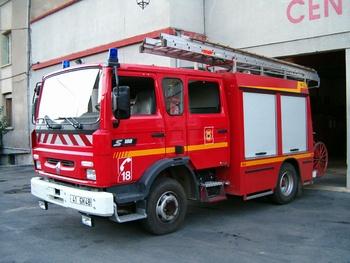 Fourgon-pompe tonne, Sapeurs-pompiers, Lozère (48)