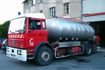 Camion-citerne de grande capacité, Sapeurs-pompiers, Lozère (48)