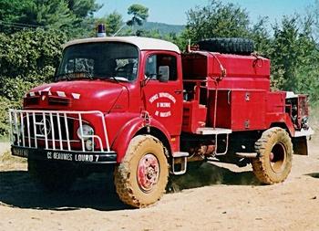 <h2>Camion-citerne pour feux de forêts - Beaumes-de-venise - Vaucluse (84)</h2>