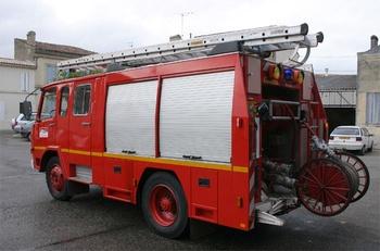 <h2>Fourgon-pompe tonne - Castillon-la-Bataille - Gironde (33)</h2>