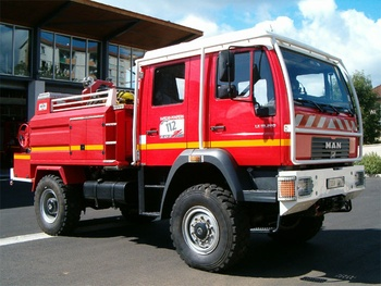 Camion-citerne pour feux de forêts, Sapeurs-pompiers, Lot