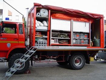 Véhicule de dépollution, Sapeurs-pompiers, Essonne (91)